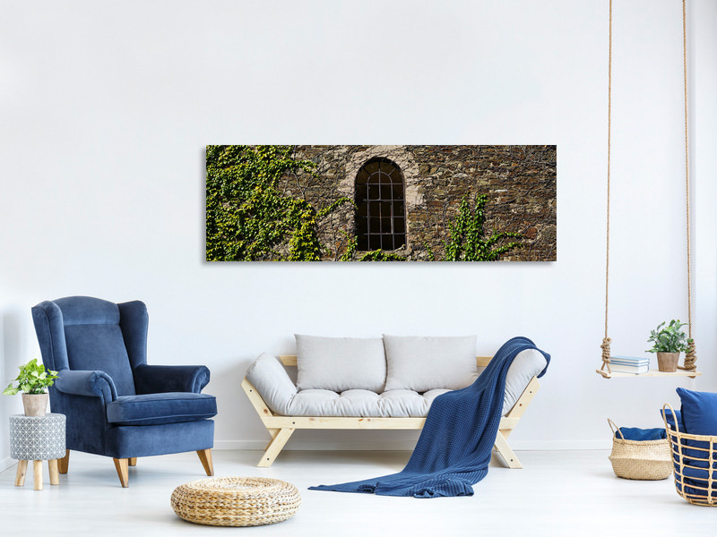 Panoramic Canvas Print Castle tower