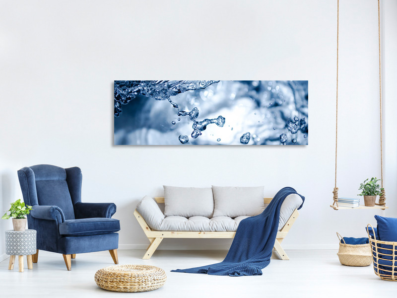 Panoramic Canvas Print Moving water