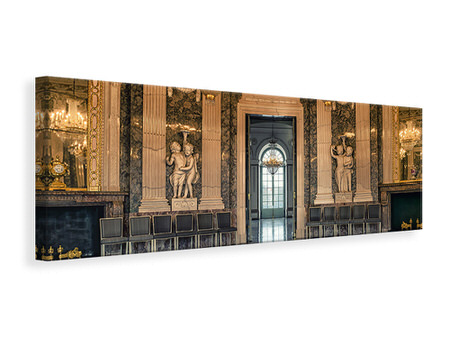 Panoramic Canvas Print Baroque hall