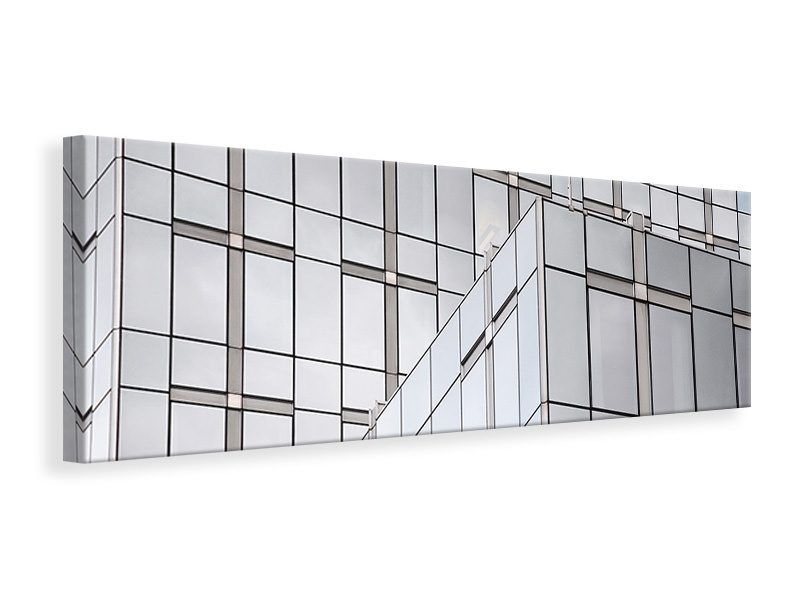 Panoramic Canvas Print A palace of glass