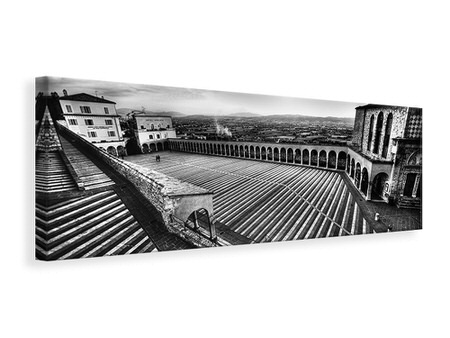 Panoramic Canvas Print Sacred Lines