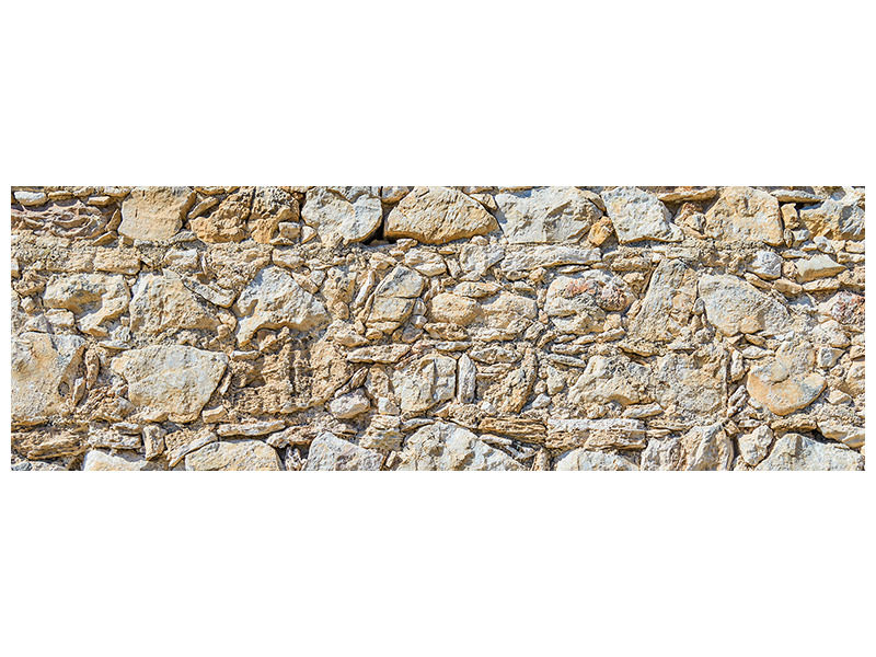 Panoramic Canvas Print Sandstone Wall