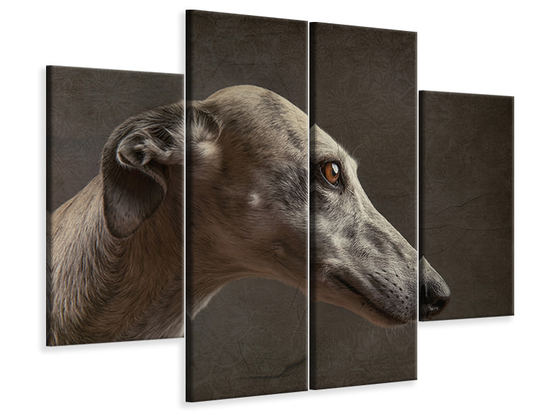 4 Piece Canvas Print Anna