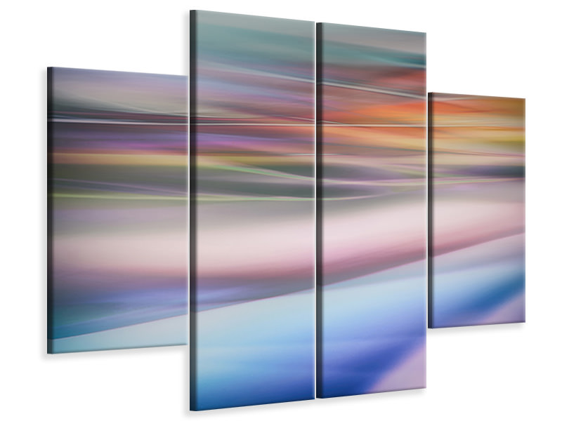 4 Piece Canvas Print Untitled 38