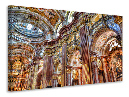 Canvas print Baroque church