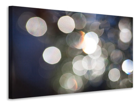 Canvas print Abstract light dots
