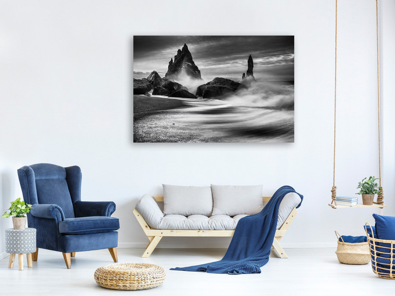 Canvas print Iceland Rocks