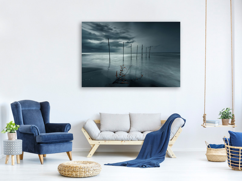 Canvas print Forever Blue