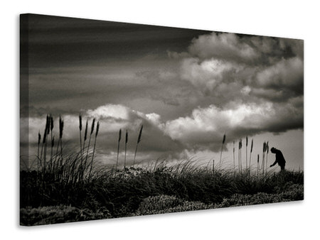 Canvas print Waiting III