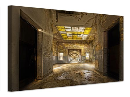 Canvas print LabyrinthSchool