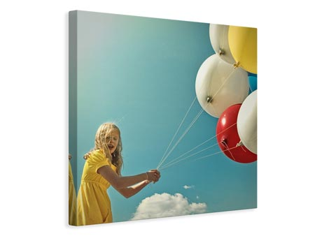 Canvas print fly me to the moon