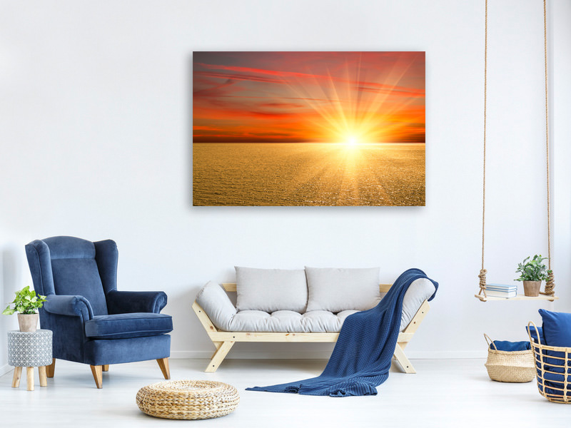 Canvas print The Sunset