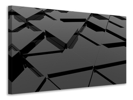 Canvas print 3D Triangular Surfaces