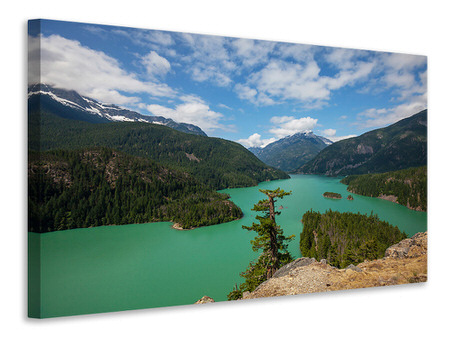 Canvas print Diablo Lake