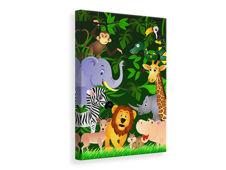 Canvas print Jungle Safari