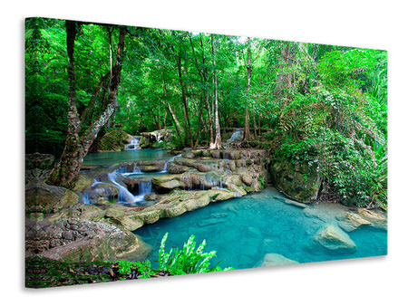 Canvas print At The Foot Of Erawan