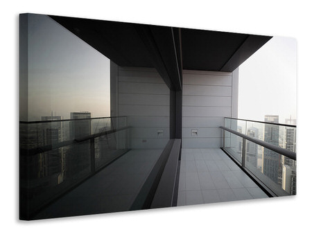 Canvas print Balcony In Dubai