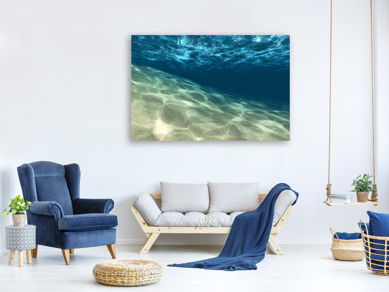 Canvas print Under The Water