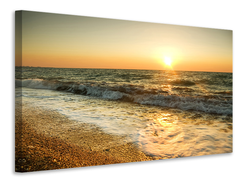 Canvas print Sunset At Sea