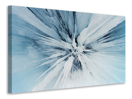Canvas print Ice Art