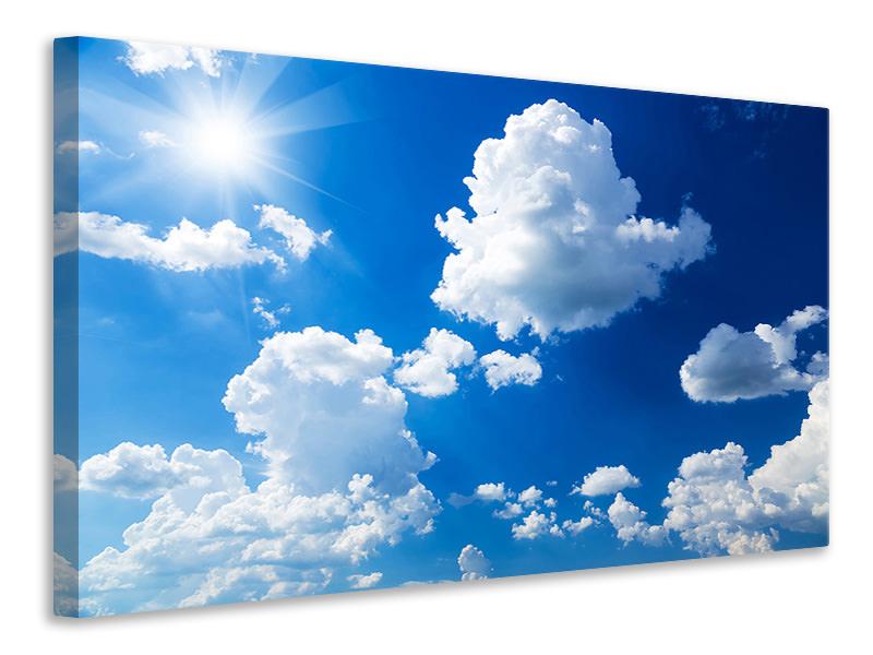 Billede på lærred Sky-Blue