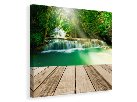 Canvas print Waterfall Thailand