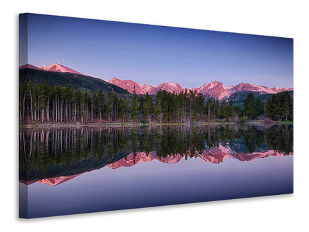 Canvas print Sprague Lake Rocky Mountains