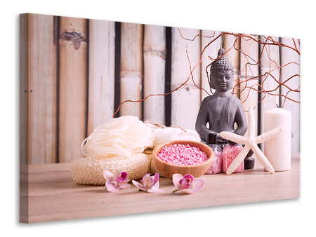 Canvas print Spa & Buddha
