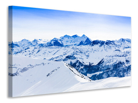 Canvas print The Swiss Alps
