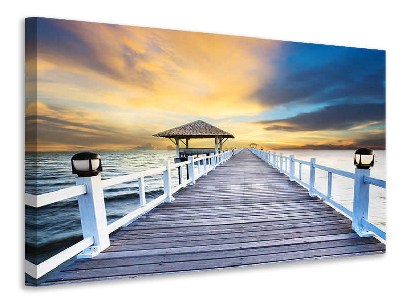 Canvas print The Bridge Into The Sea
