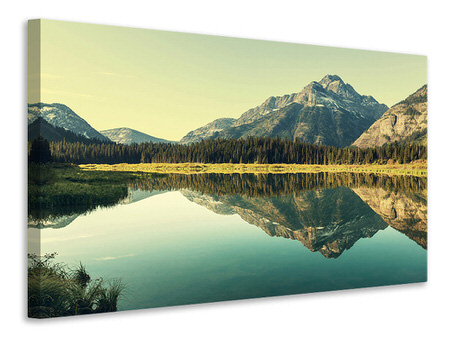 Canvas print The Lake