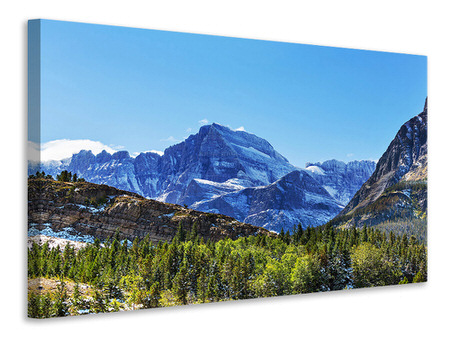 Canvas print The Summit Counter