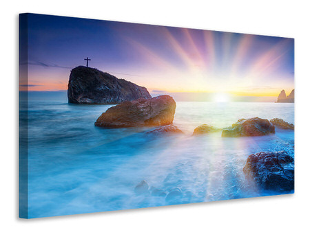 Canvas print Photo Wallaper Mystic Sea
