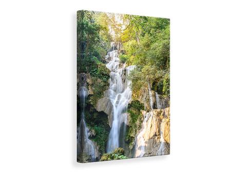 Canvas print Intoxicated Waterfall