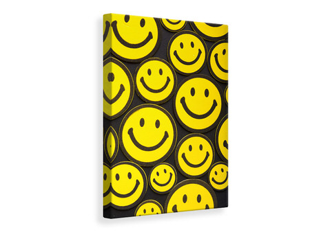 Canvas print Smileys