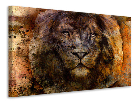 Canvas print Portrait Of A Lion